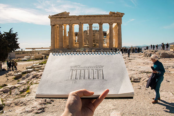 Research in Action:  Travel to Greece to Prepare for Rome