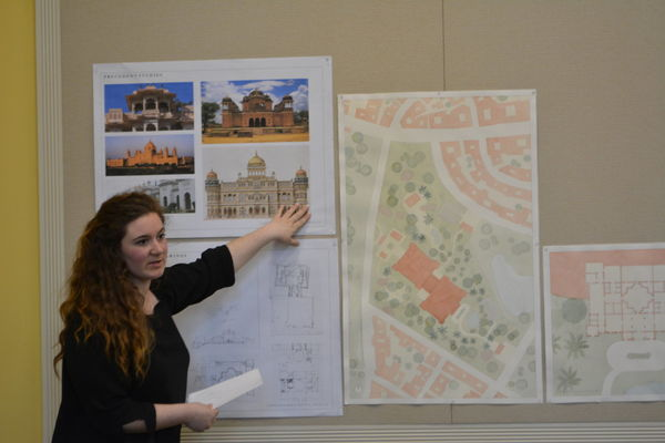 First Final Reviews Held in Walsh Family Hall