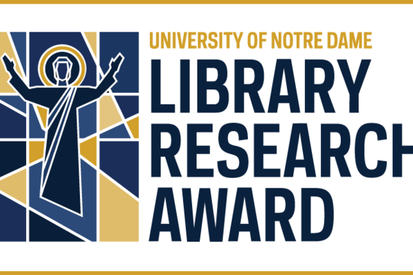 Architecture Student receives University of Notre Dame Library Research Award