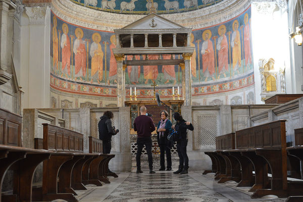 Ingrid Rowland creates an exclusive documentary of the Basilica of Saint Clement in Rome