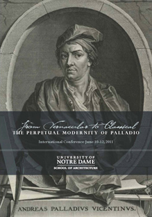 Conference poster showing image of Andreas Palladio
